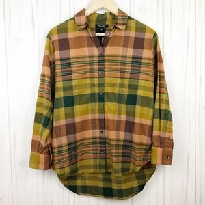 Madewell Seconda Plaid Sunday Flannel Shirt